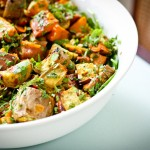 Sweet Potatoes with Lime and Coriander