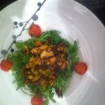 Stir-fried Mushroom Salad