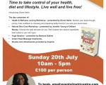 Wellbeing Day At The Nutri Centre London