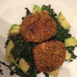 Sweet Potato Burgers with Kale and Avocado