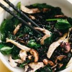 Shiitake & Kale Stir-fry