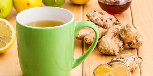 Zingy Ginger Tea