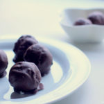 Chocolate & Orange Covered Coconut Balls